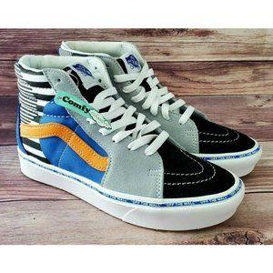Vans Womens Sk8 Hi OTW Disarray Cumfycush Sneakers